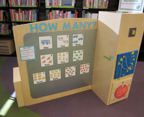 Play and Learn magnet board