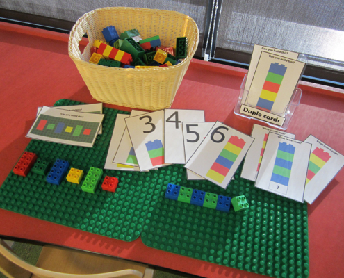 Play and Learn Duplo activities