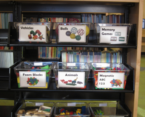Play and Learn toy bins