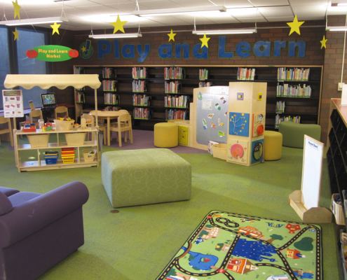 Play and Learn area