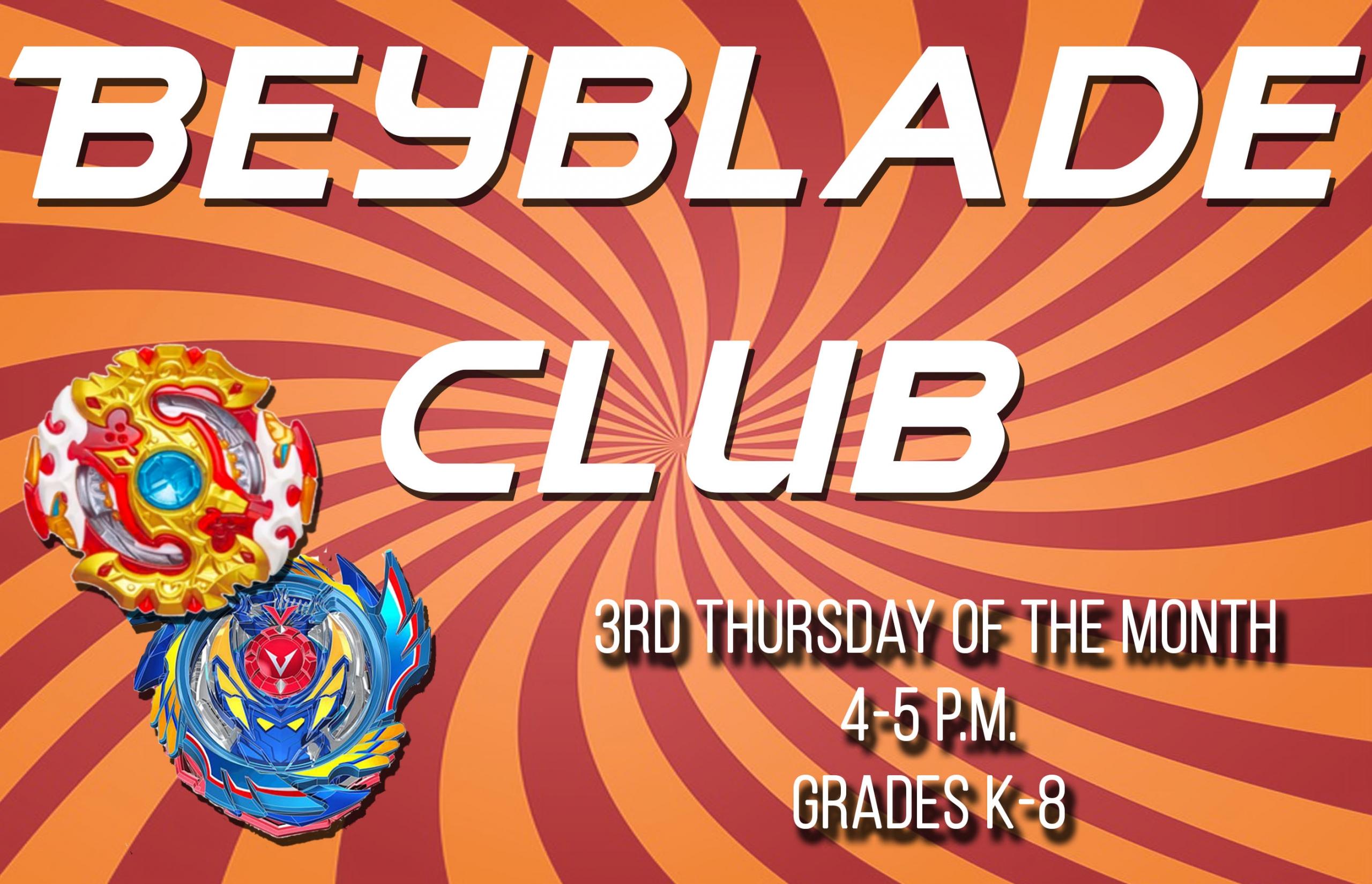 beyblade club general days