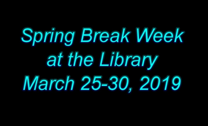 Spring Break at the Library