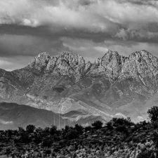 """La Sal Mountains Moab UT View"" - Hubert Cole"