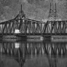 """""""Train Bridge Awaiting"""" - Hubert Cole"""