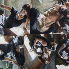 """Triangles of Light"" - Barbara Shafer"
