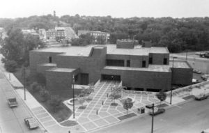 The new library building