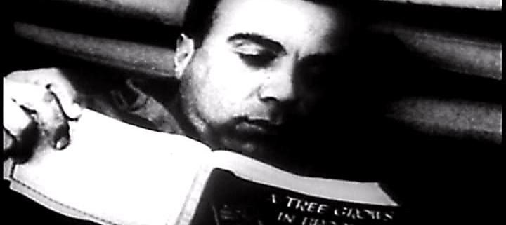Serviceman Reading