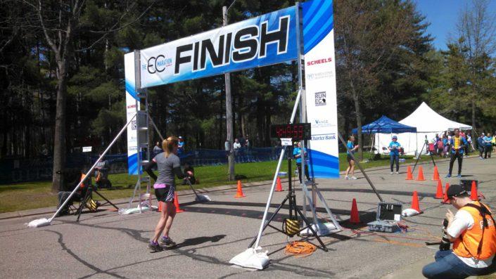 Eau Claire Marathon Finish