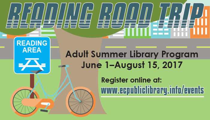 Reading Road Trip: Adult Summer Reading Program