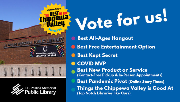 Vote for us in Volume One's Best of the Valley Reader Poll