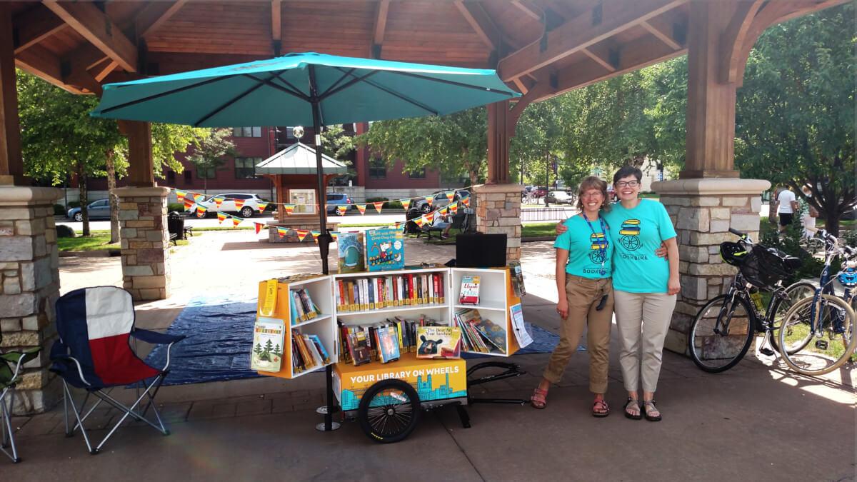 BookBike at Farmers Market