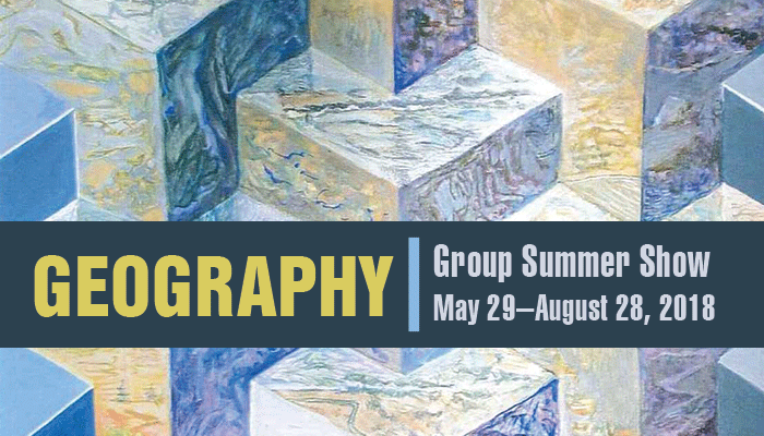"""""""Geography"""" Summer Group Show"""