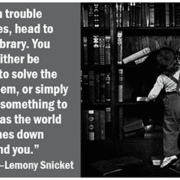 When trouble strikes, head to the library