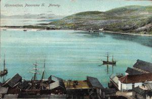 View of Hammerfest, Norway (1910)