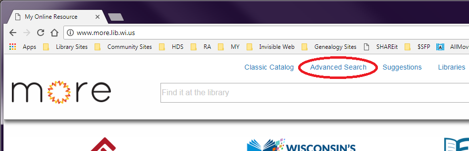 "screenshot for ""Advanced Search"""