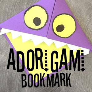 Adorigami Bookmark