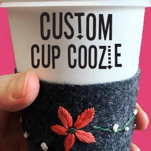 Custom Cup Coozie