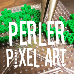 Perler Pixel Art