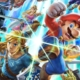 Colorful Picture of multiple Nintendo Games Characters