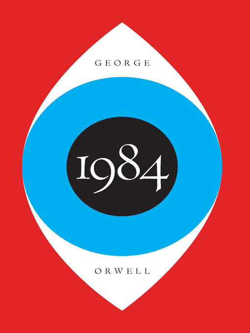 """cover image of """"1984"""" by George Orwell"""