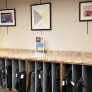 Photo of art print area