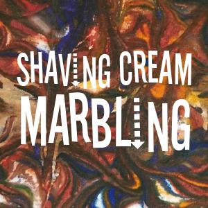 Shaving Cream Marbling