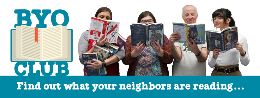 Find out what your neighbors are reading...