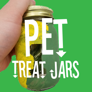 Pet Treat Jars