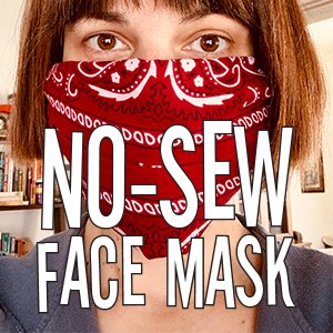 No-Sew Face Mask