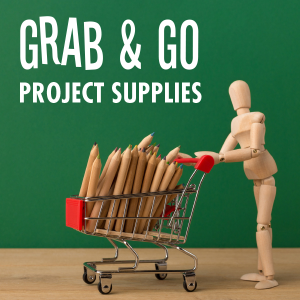 Grab & Go project supplies