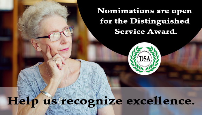 Help us recognize excellence.