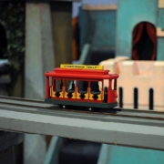 Image of the Neighborhood Trolley from Mr. Rogers